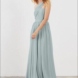 Bridesmaid dress- perfect condition! Seaside color